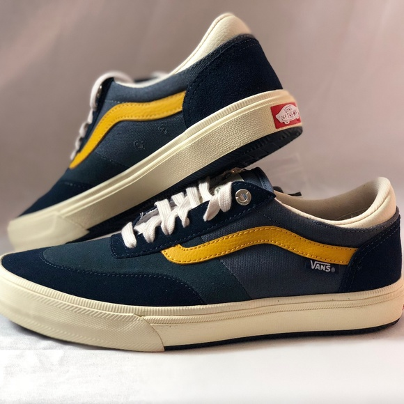 Vans Gilbert Crockett Antique Navy Skate Shoes 3e8701e44c